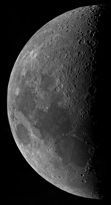 7.5 Day (First Quarter) Moon